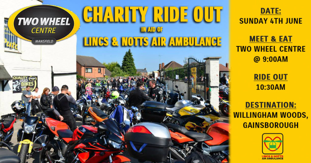 Air ambulance Charity Ride-Out