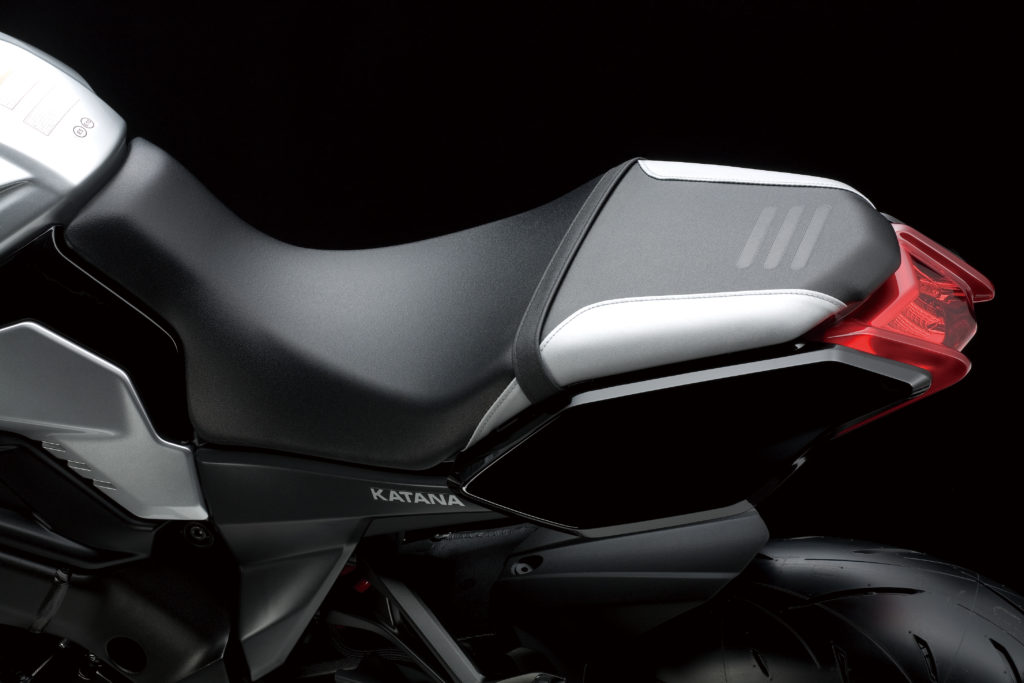 New Suzuki Katana Seat