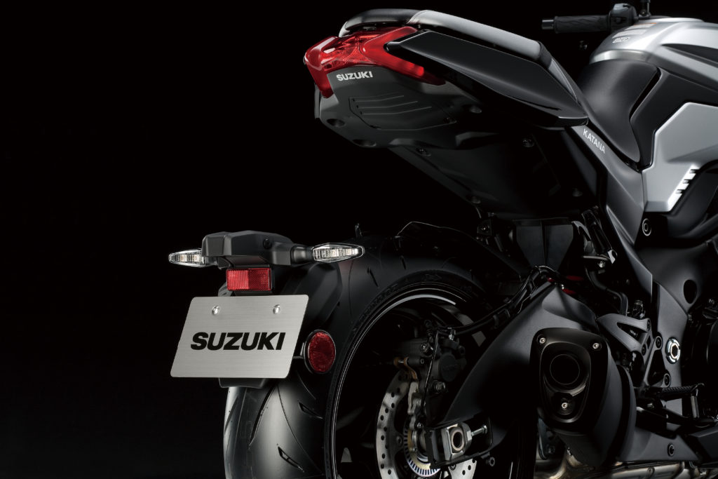 New Suzuki Katana Rear End
