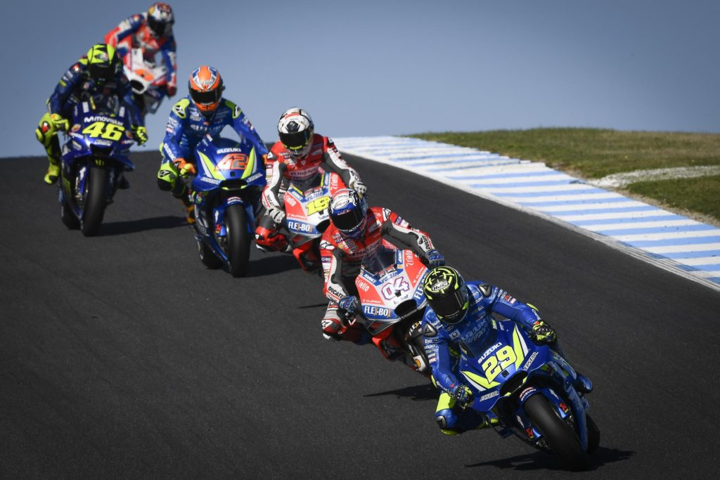 2018 MotoGP Australia - Iannone 2nd Place