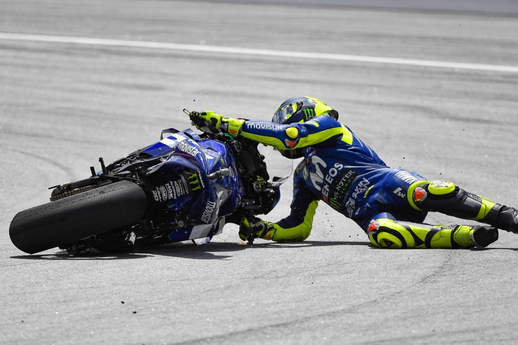 MotoGP Malaysia - The Doctor Ditches It