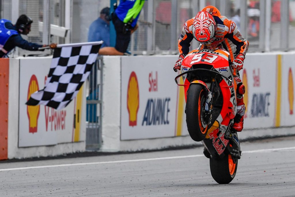 MotoGP Malaysia - A Win By Attrition For Marquez